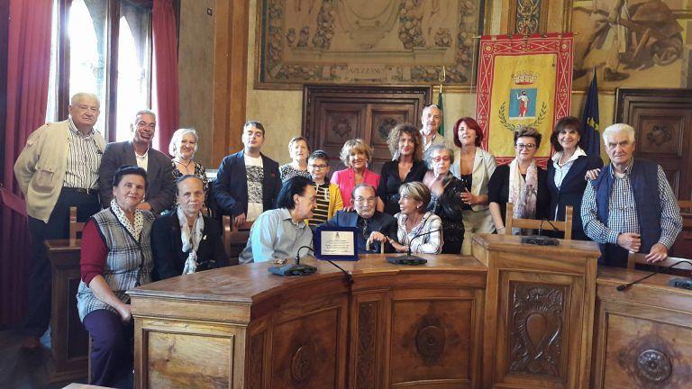 Avezzano festeggia i 100 anni di Eduardo Cavallaro