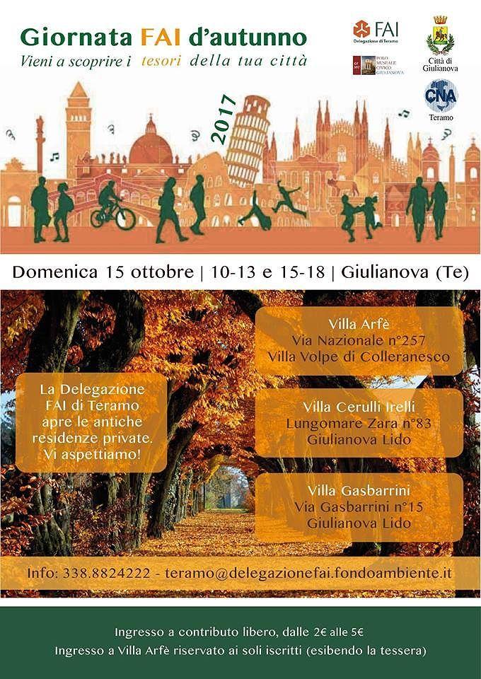 Giulianova, ville storiche aperte al pubblico