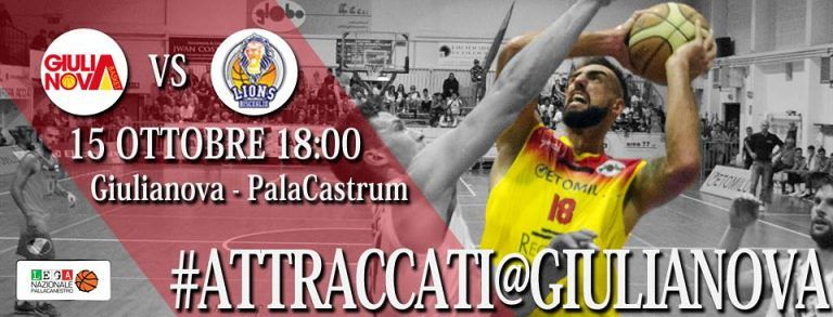 Basket, Giulianova ospita Bisceglie per continuare la serie positiva