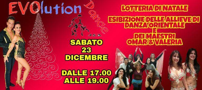 ASD Evolution Dance: Sabato 23 Dicembre festa di Natale per gli allievi| Giulianova