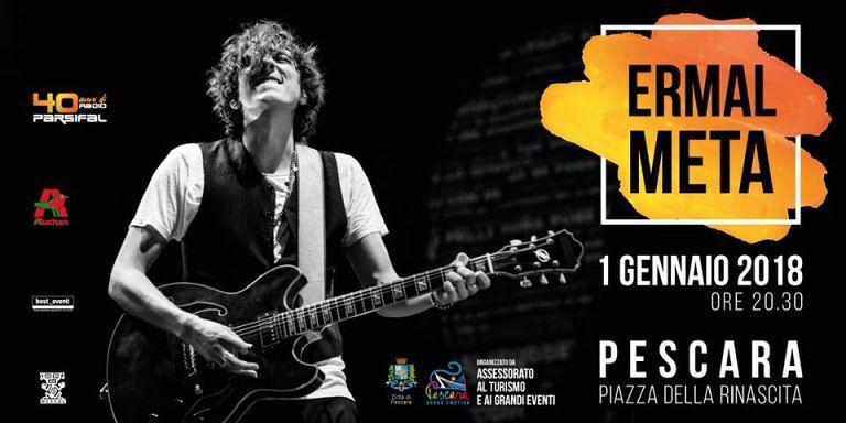 Pescara, a dare il benvenuto al 2018, sarà Ermal Meta