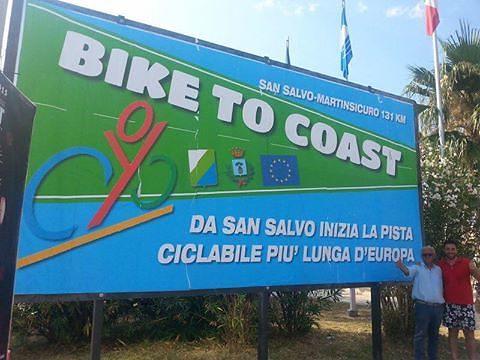Pista Bike to Coast la più lunga d'Europa?