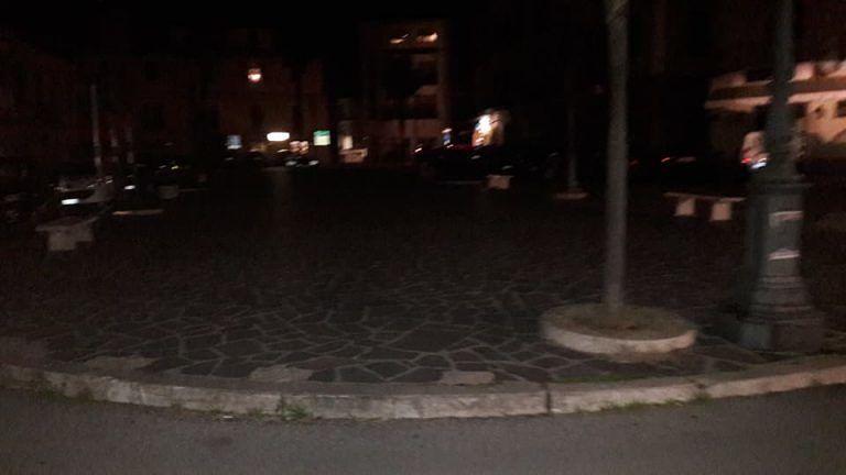 Mosciano, blackout in centro: ancora polemiche sul progetto Paride FOTO