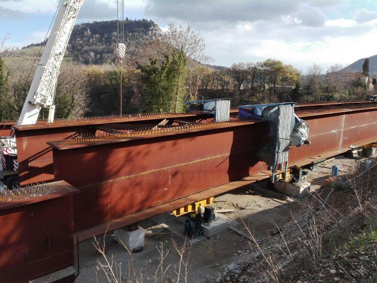 Civitella del Tronto, il ponte dello Stregone: cantiere lento tra disagi e rabbia FOTO