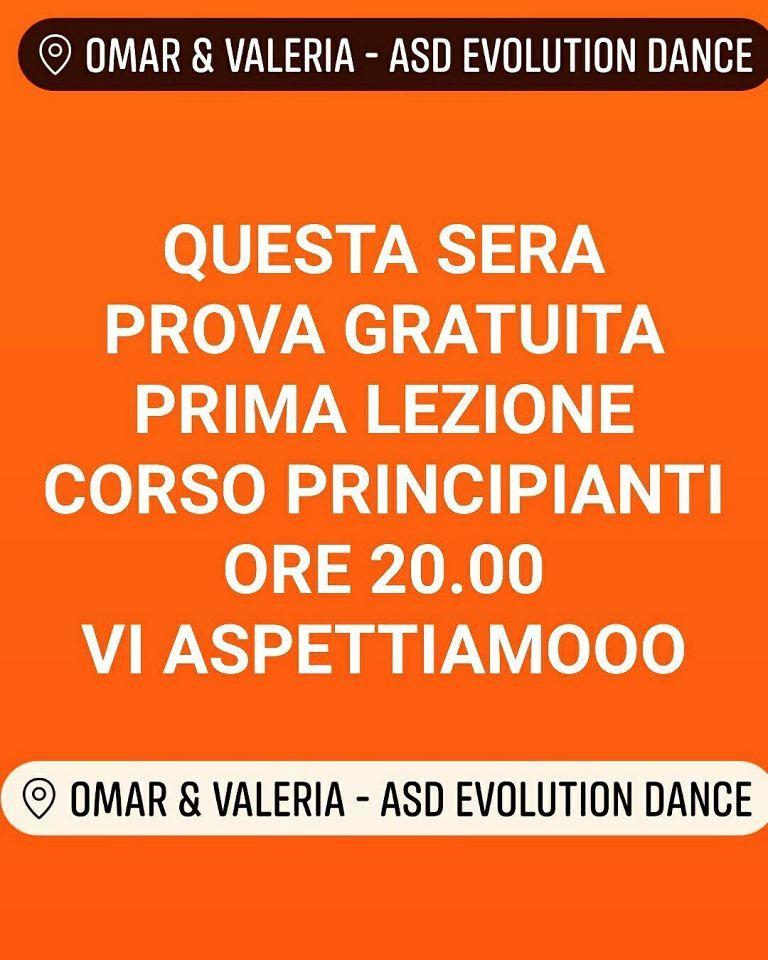 Evolution Dance: stasera prima lezione gratuita corso principianti| Giulianova