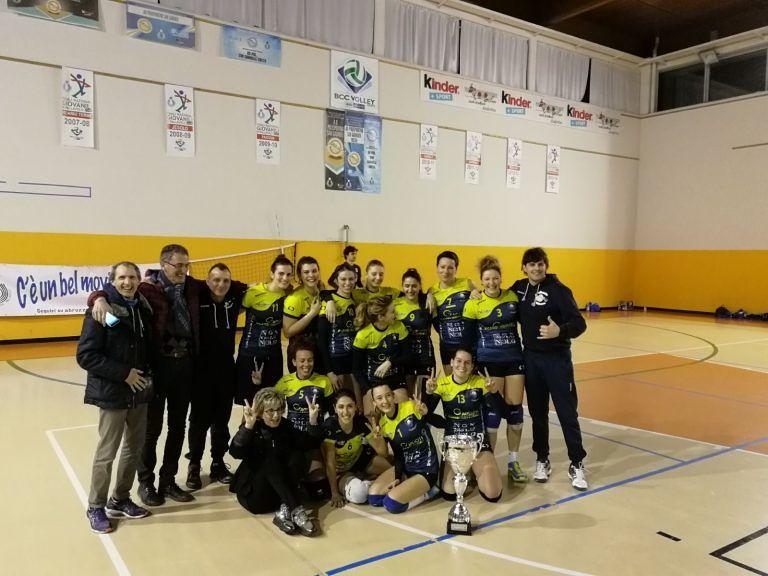 Pallavolo, Giulianova vince la Coppa Abruzzo: 3-1 all'Arabona