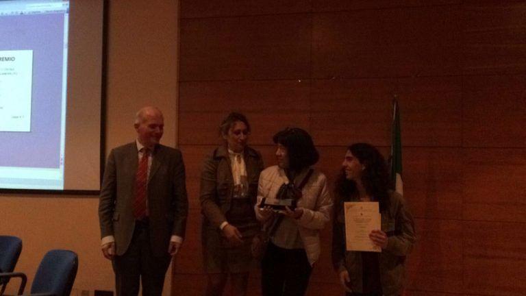 Giulianova, studente del Curie premiato al Concorso Artistico Nazionale 'Pasquale Celommi' FOTO