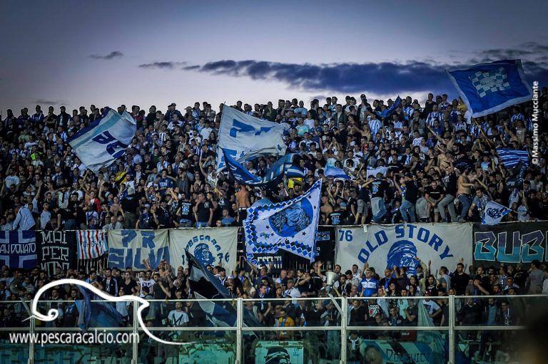 Ascoli-Pescara: derby limitato per i tifosi biancazzurri