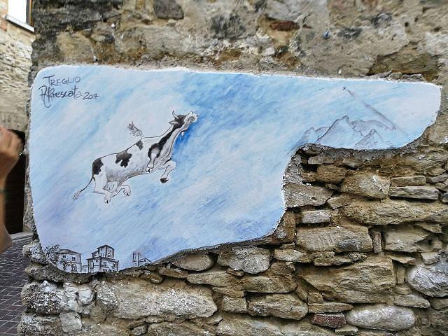 Treglio, 7 nuovi affreschi abbelliscono il paese
