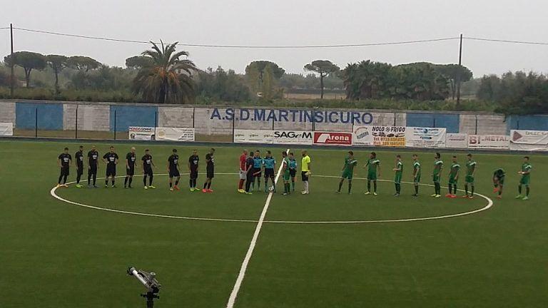 Di Sante-Molino: pari spettacolo (1-1) tra Alba Adriatica e Martinsicuro FOTO VIDEO