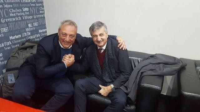 Francavilla Calcio, il sindaco Luciani ed il presidente Candeloro fanno pace