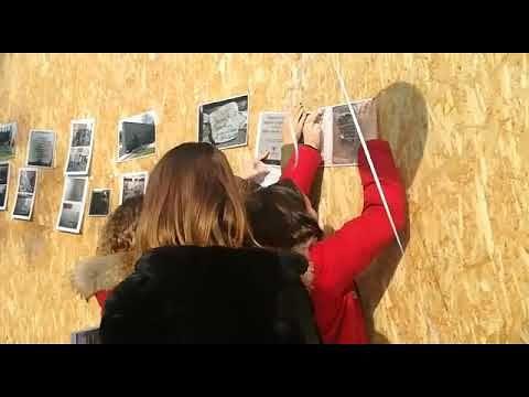 Giulianova, flash mob degli studenti della Pagliacetti 'Per non dimenticare' FOTO/VIDEO