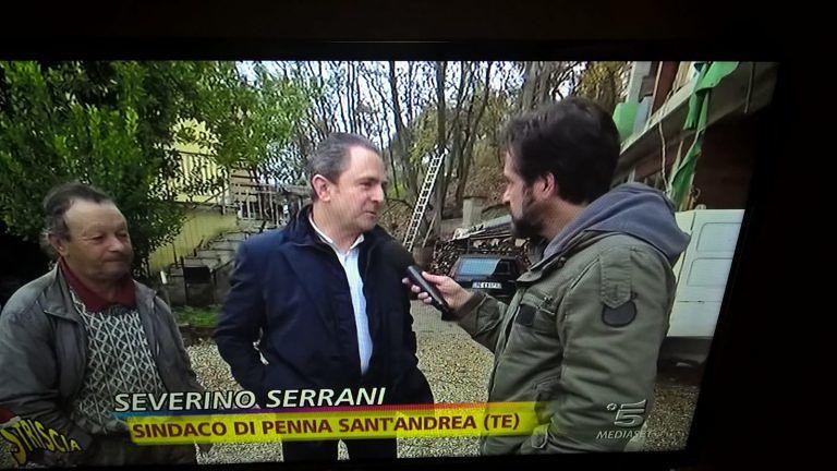 Emergenza allevatori nel teramano: Striscia la Notizia a Penna Sant'Andrea