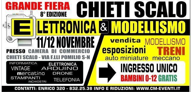 Fiera dell'elettronica & del modellismo a Chieti Scalo