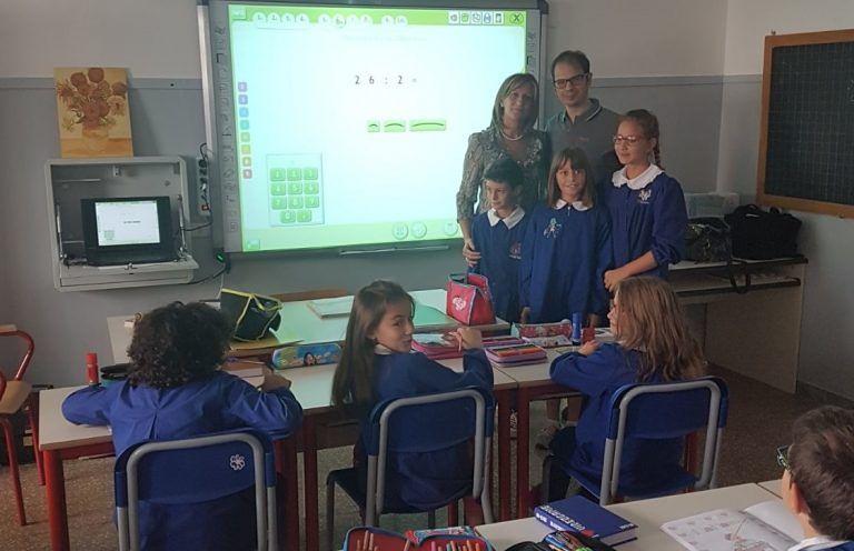Basciano, consegna Lim nelle scuole: il ringraziamento ai benefattori