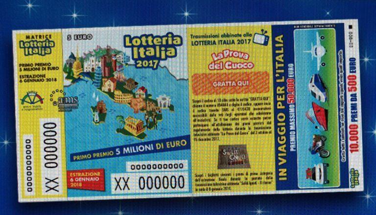 Lotteria Italia, un martinsicurese vince uno dei premi di consolazione