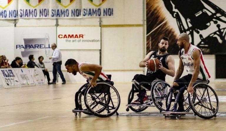 Basket in carrozzina, Amicacci Giulianova sconfitta a Cantù