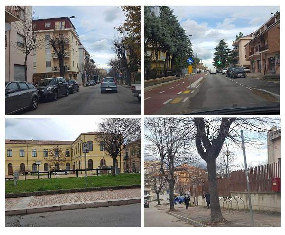 Lanciano, nuova pista ciclabile in viale Cappuccini. CasaPound Italia contraria