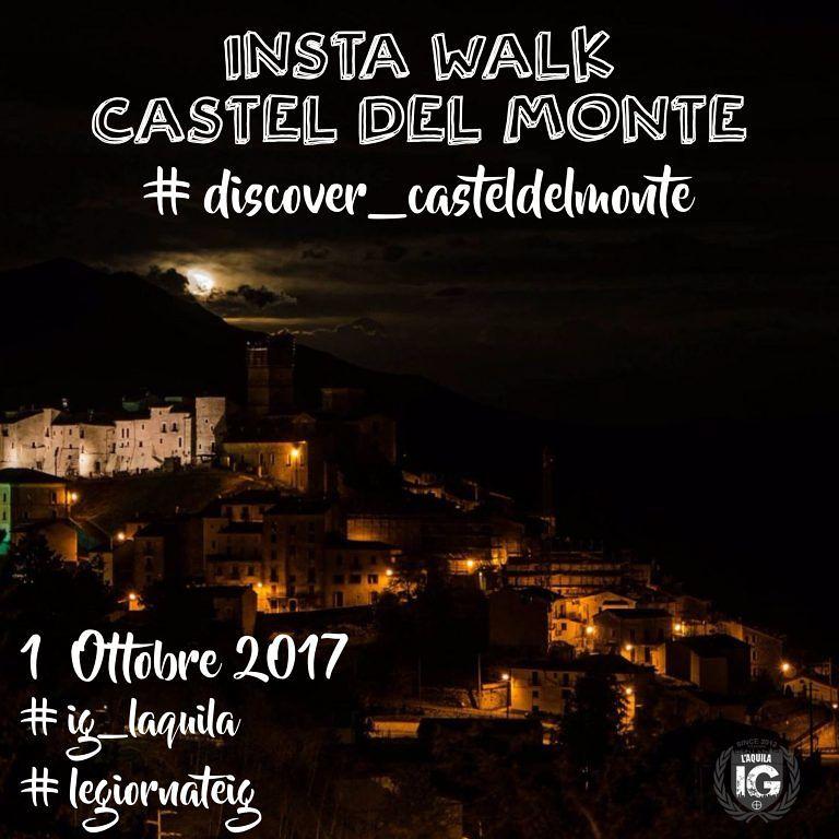 """Discover Castel del Monte: gli Igers aquilani """"a caccia"""" di foto nel borgo"""