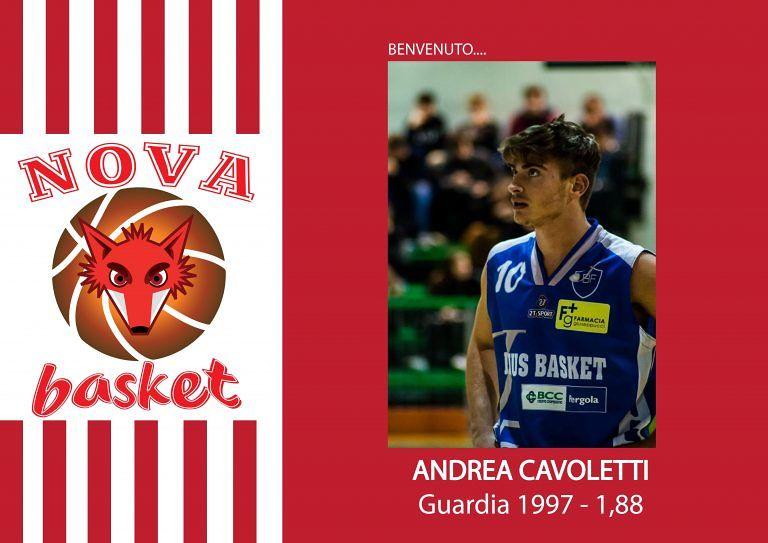 Basket, Nova Campli: arriva il giovane Andrea Cavoletti