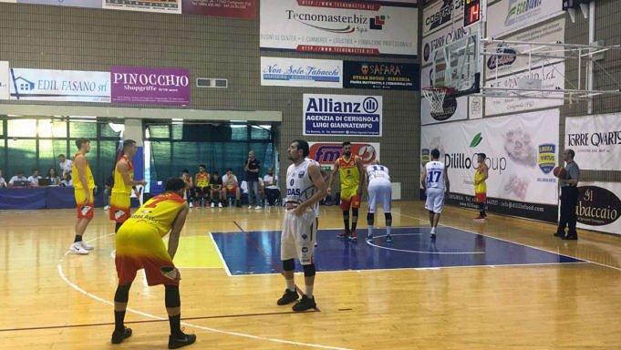 Basket, Giulianova sbanca Cerignola: 60-69