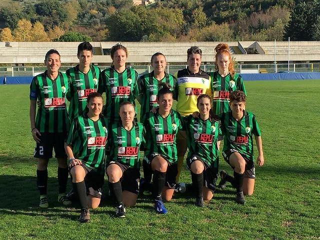 Vittoria con il Real Colombo e secondo posto in classifica per il Chieti Calcio Femminile