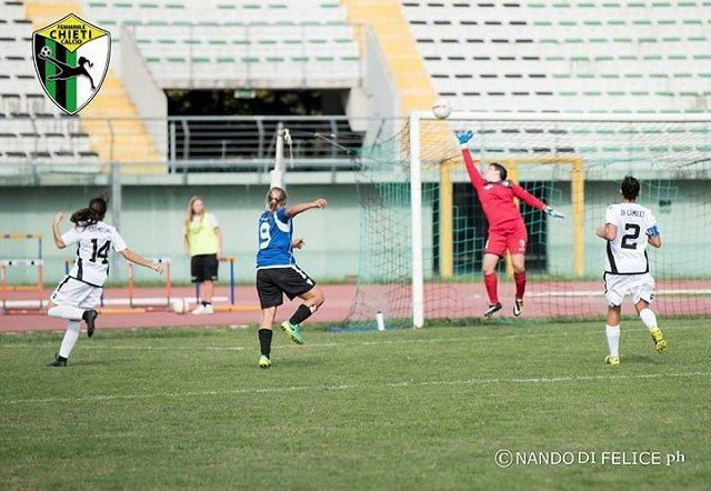 Chieti Calcio Femminile, Maria Grazia Balbi: 'Siamo un bel gruppo, puntiamo a fare bene'