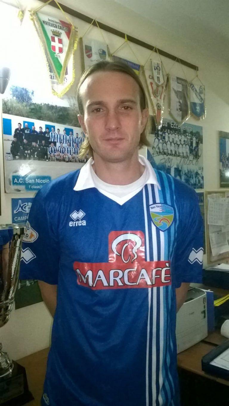 Serie D, altro rinforzo per l'attacco del San Nicolò: ecco Tiboni