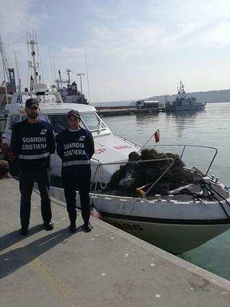 Controlli sulla pesca: sanzioni e sequestri della Guardia Costiera di Ortona
