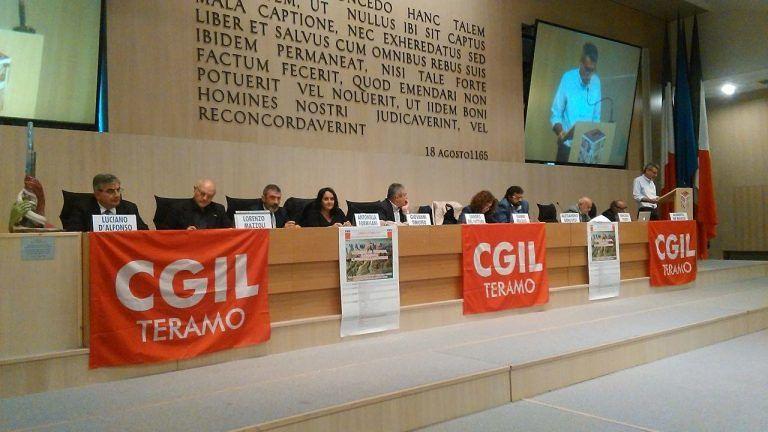 Teramo, dalla Cgil la richiesta di una legge quadro per la gestione delle emergenze VIDEO