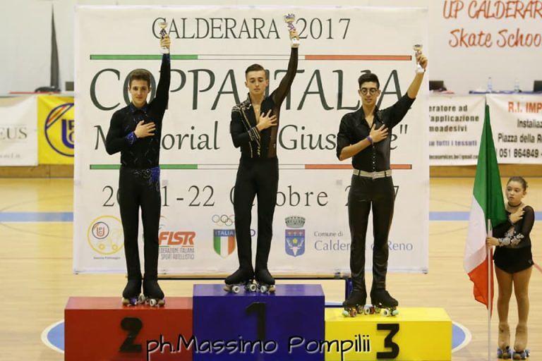 Teramo, bronzo per Eugenio Maglia del GSD Aprutino FOTO