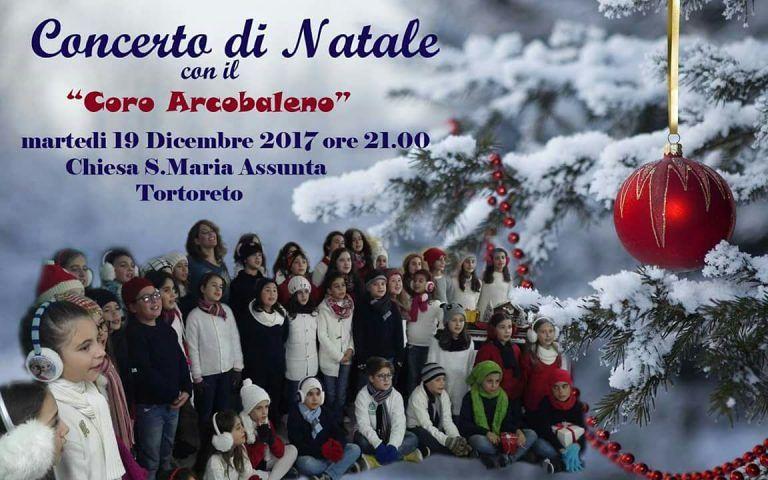 Tortoreto, concerto di Natale con il Coro Arcobaleno