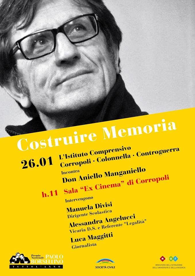 Corropoli, Giornata della Memoria: il parroco di Scampia incontra gli studenti