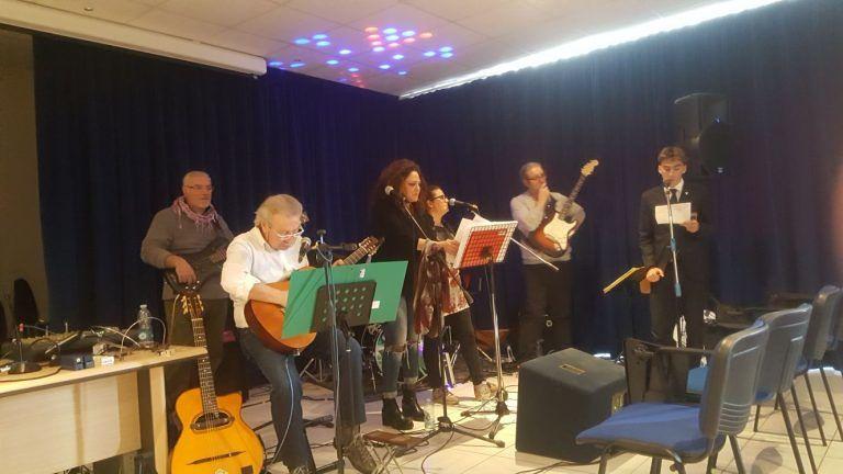 Corropoli, il Concerto per la Pace al Liceo D'Annunzio FOTO