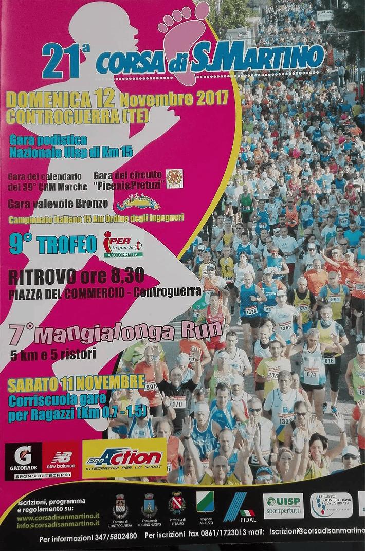 Controguerra, la corsa di San Martino punta al record di partecipanti