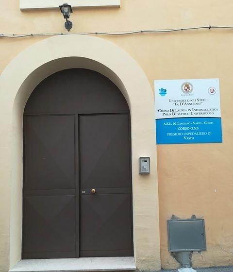 Vasto, nuova sede per Corso di Laurea in Infermieristica