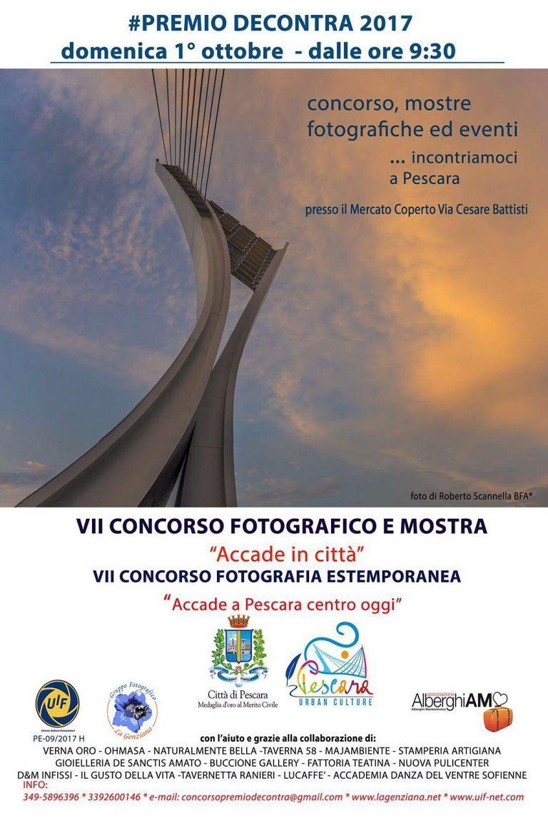 Pescara, Premio Decontra: foto in estemporanea al mercato coperto