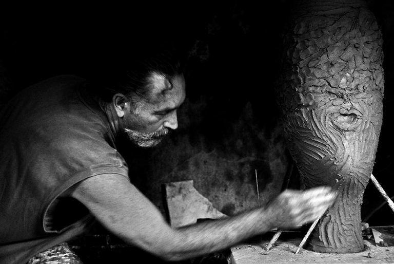 Atri, le opere di Guy Lydster al Palazzo Acquaviva