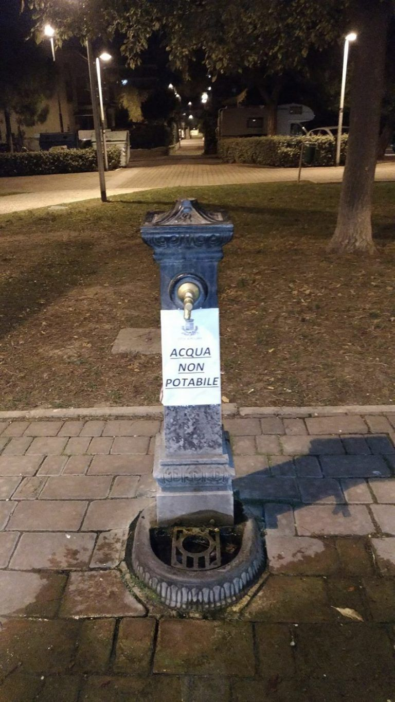 Pescara, caso fontanine comunali: controlli in abitazioni e scuole