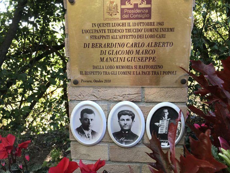 Pescara, cerimonia in ricordo delle vittime nazifasciste