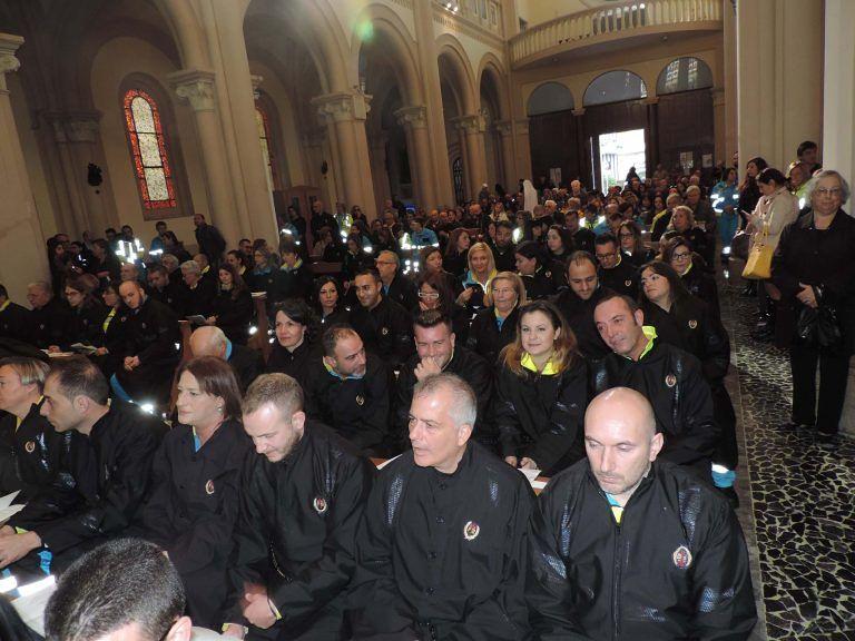 Pescara, 45 nuovi confratelli nella Confraternita della Misericordia