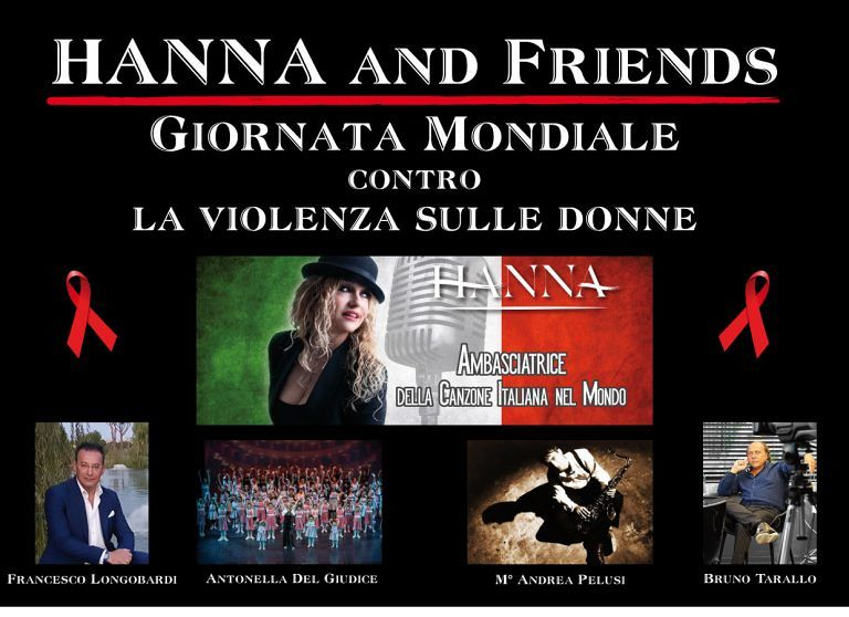 Pescara, la cantante Hanna in due spettacoli per dire no alla violenza sulle donne