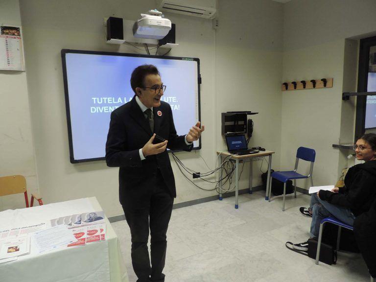 Pescara, Lilt e Liceo Scientifico 'Galilei' insieme per un progetto contro i tumori