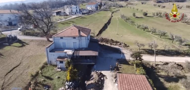 Frana di Ponzano, un consiglio comunale per avviare le procedure di delocalizzazione