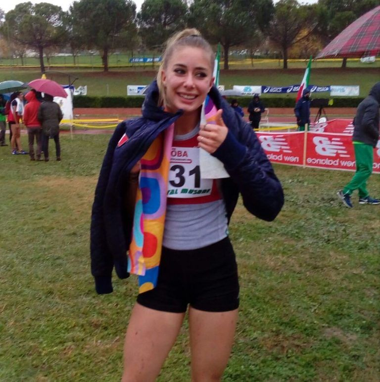 Atletica, Gaia Sabbatini vola verso gli Europei di Cross