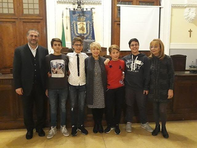 Chieti, Consiglio Comunale dei Ragazzi e delle Ragazze: Francesco Di Renzo eletto presidente