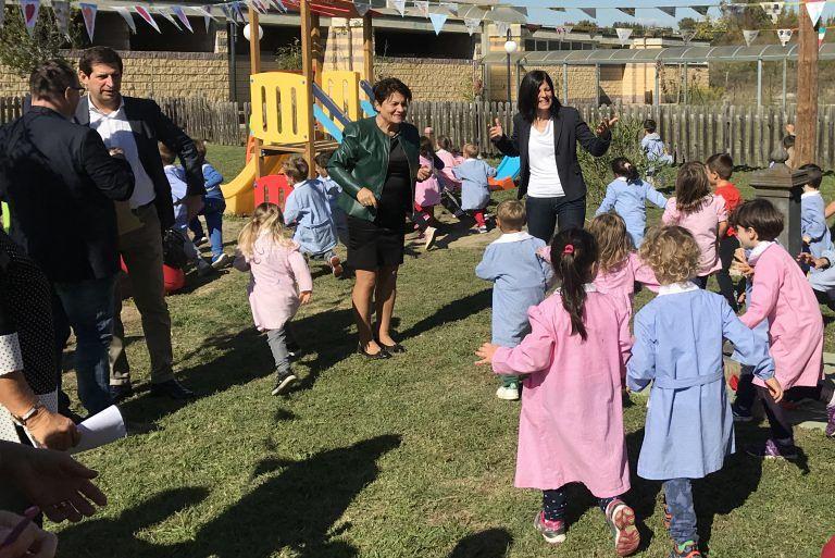 Campli, giochi per bambini donati dal Comune di Casoli