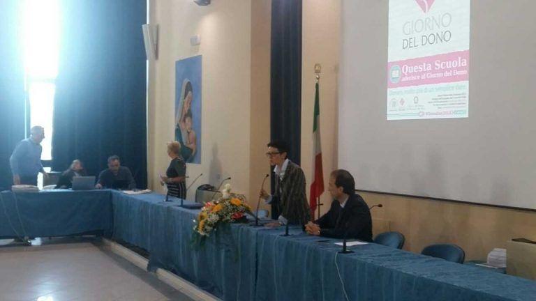 """Martinsicuro, in sala consiliare la celebrazione del """"giorno del dono"""" FOTO VIDEO"""