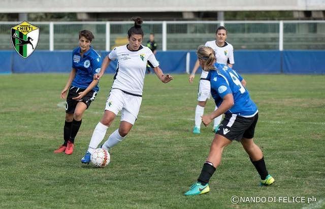Chieti Calcio Femminile, Di Camillo: 'A Napoli per cercare di conquistare i primi tre punti'