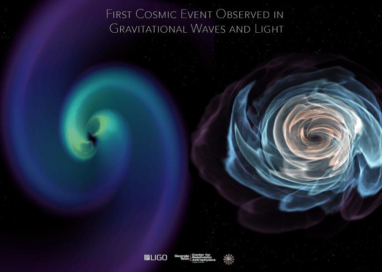 L'Aquila, straordinaria scoperta scientifica nello scontro di due stelle di neutroni al GSSI